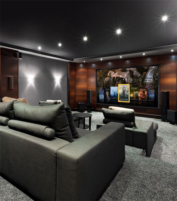 Zappiti Lifestyle Home Theater Room